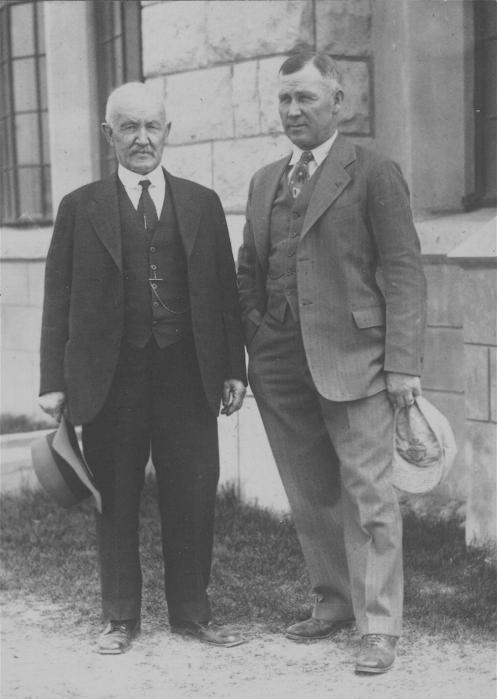 Charles and George Sternberg