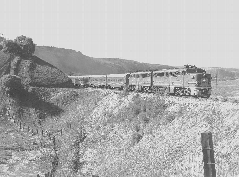 Atchison, Topeka & Santa Fe Railway Company's San Diegan streamliner train