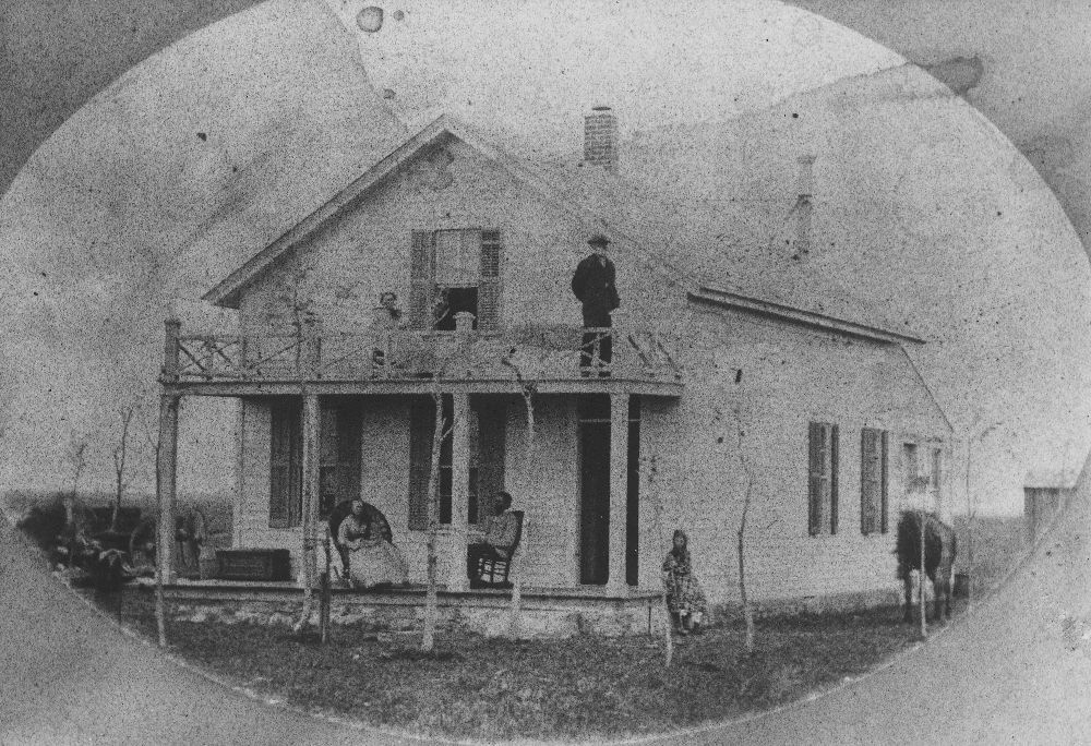 A.J. Anthony's home, Ford County, Kansas