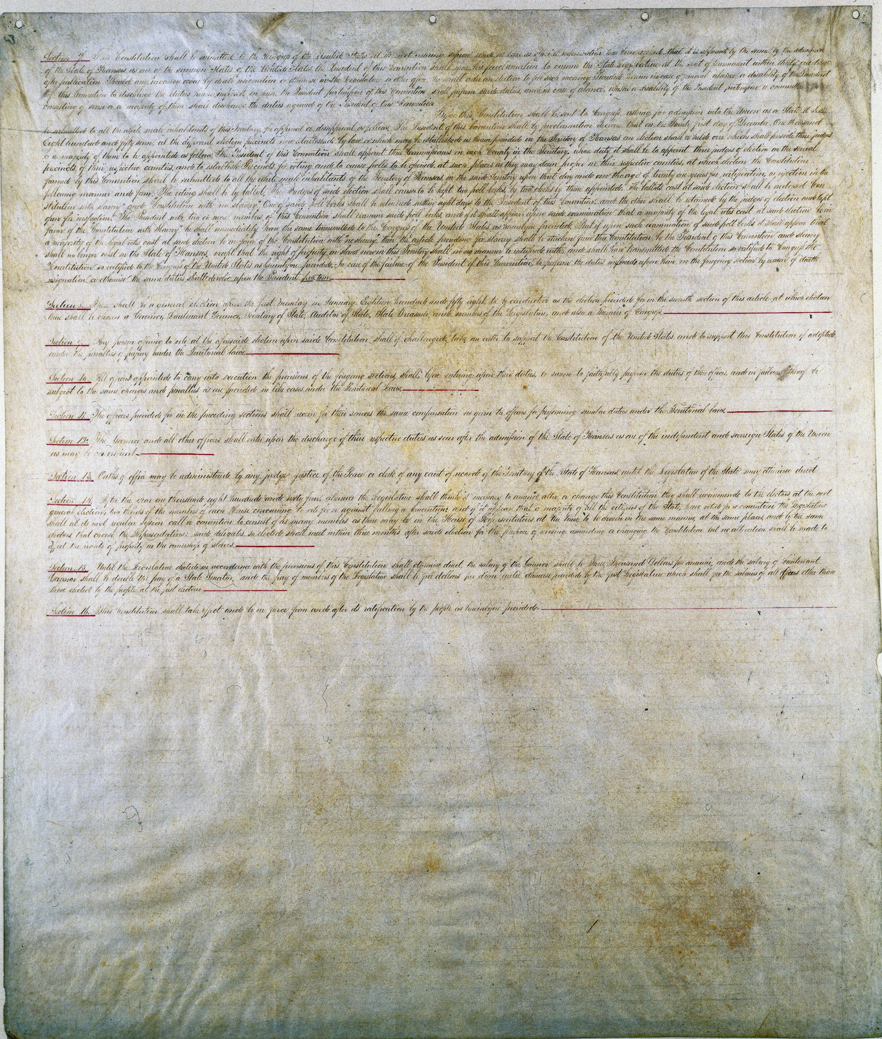 Lecompton Constitution - 7