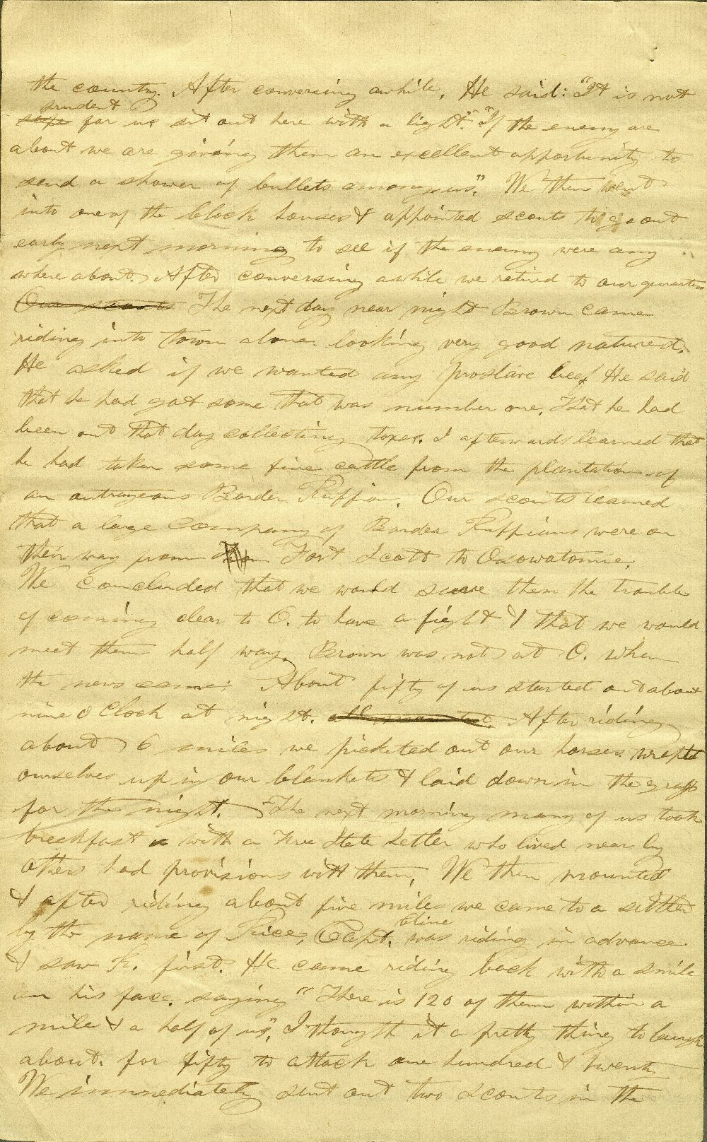 C. G. Allen's response to Redpath and Hinton's call for information about John Brown - 4