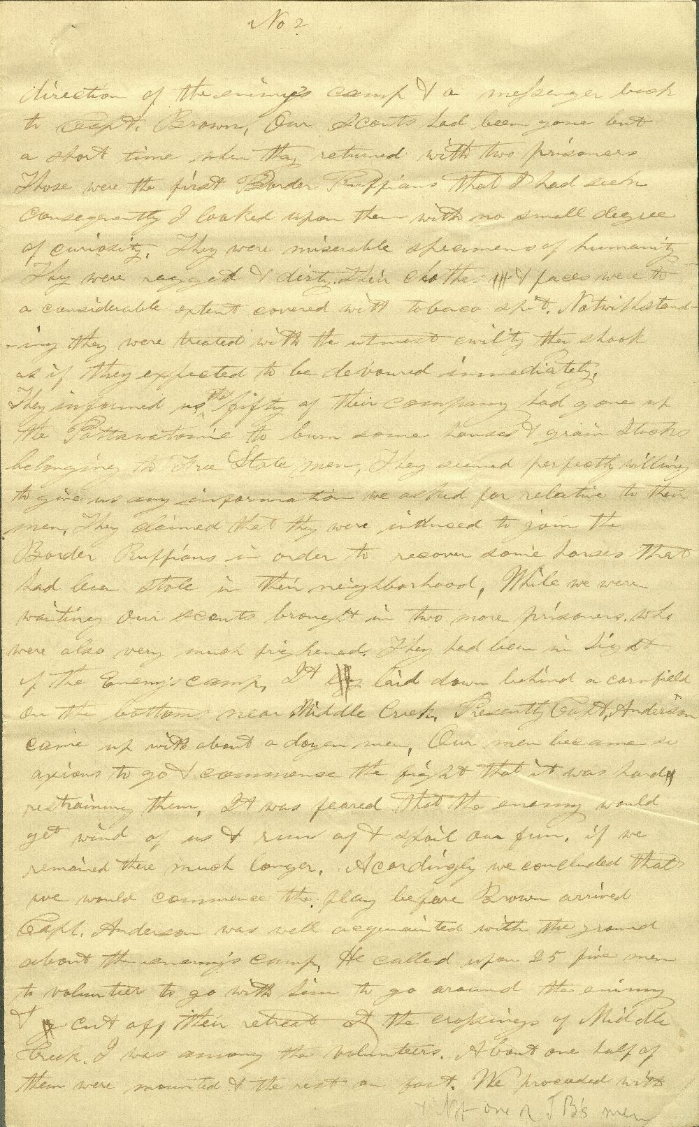 C. G. Allen's response to Redpath and Hinton's call for information about John Brown - 5