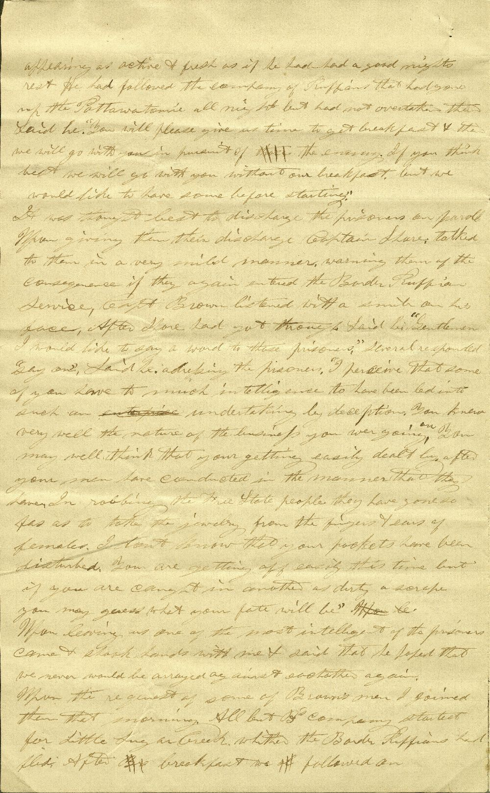 C. G. Allen's response to Redpath and Hinton's call for information about John Brown - 10