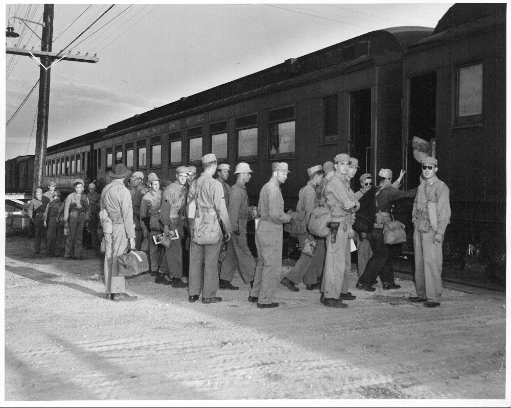 Atchison, Topeka & Santa Fe Railway Company's military train