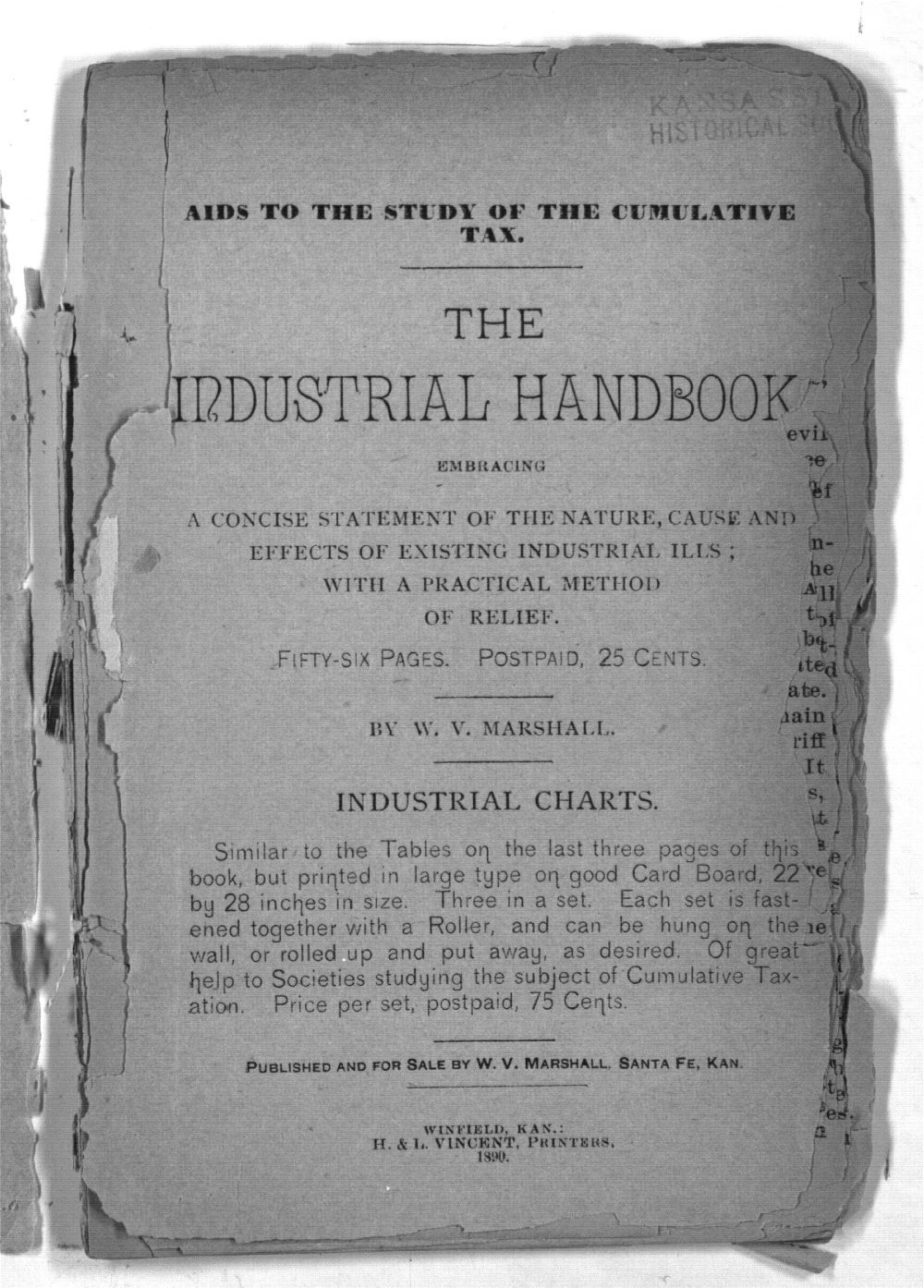 The Industrial Handbook Embracing A Concise Statement  Of The Nature, Cause And Effects Of Existing Industrial Ills:  With A Practical Method of Relief - 3