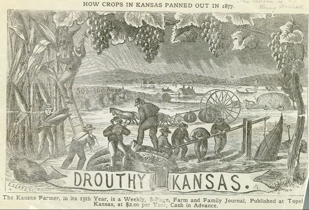 Drouthy Kansas, How Crops In Kansas Panned Out In 1877