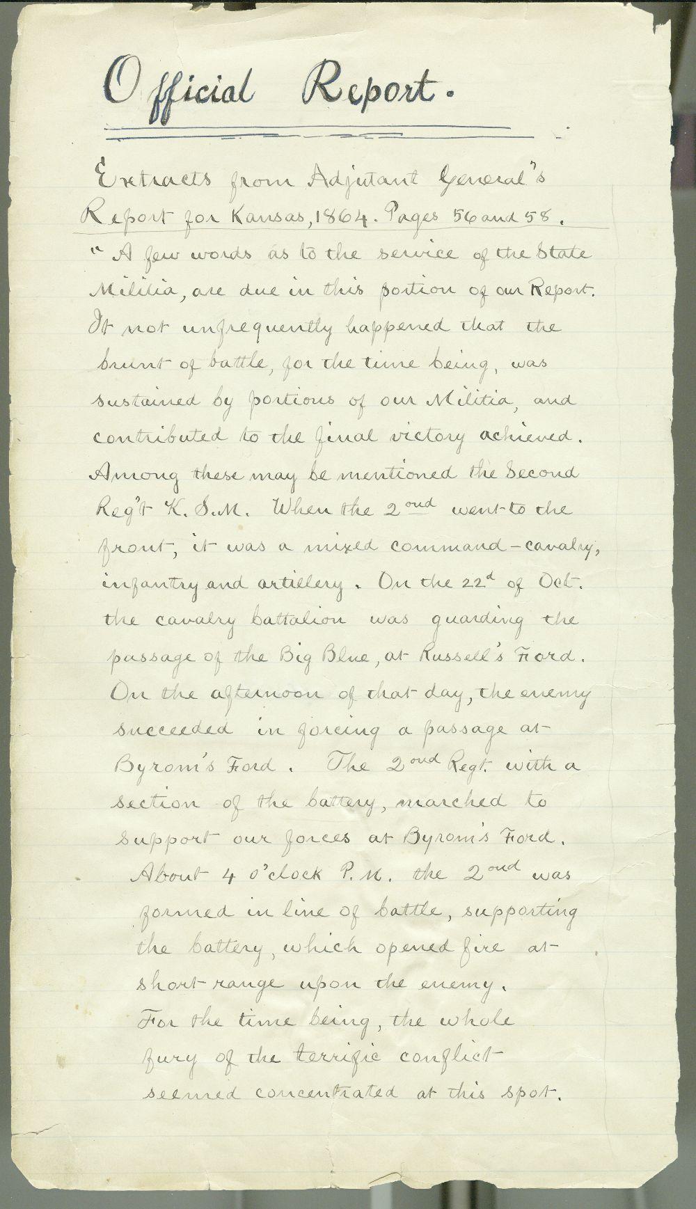 Samuel J. Reader's autobiography, volume 3 - 5