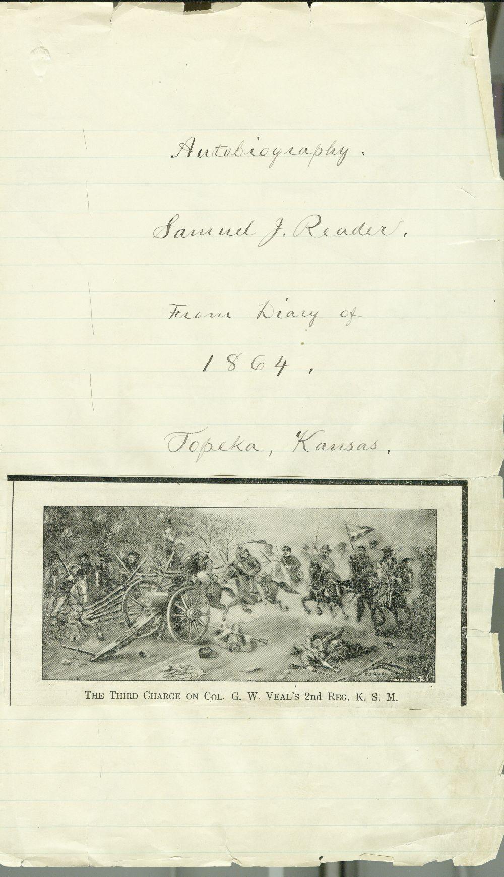 Samuel J. Reader's autobiography, volume 3 - 7