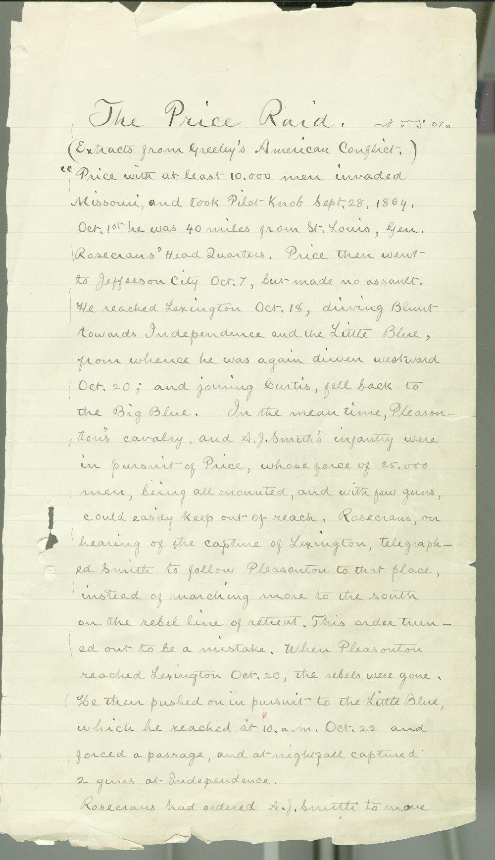 Samuel J. Reader's autobiography, volume 3 - 3