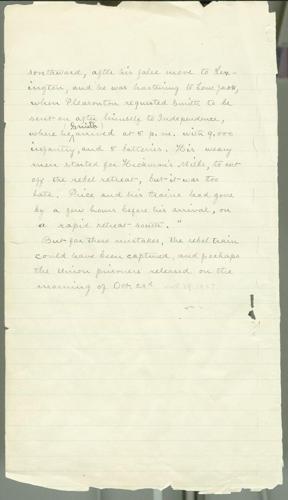 Samuel J. Reader's autobiography, volume 3 - 4