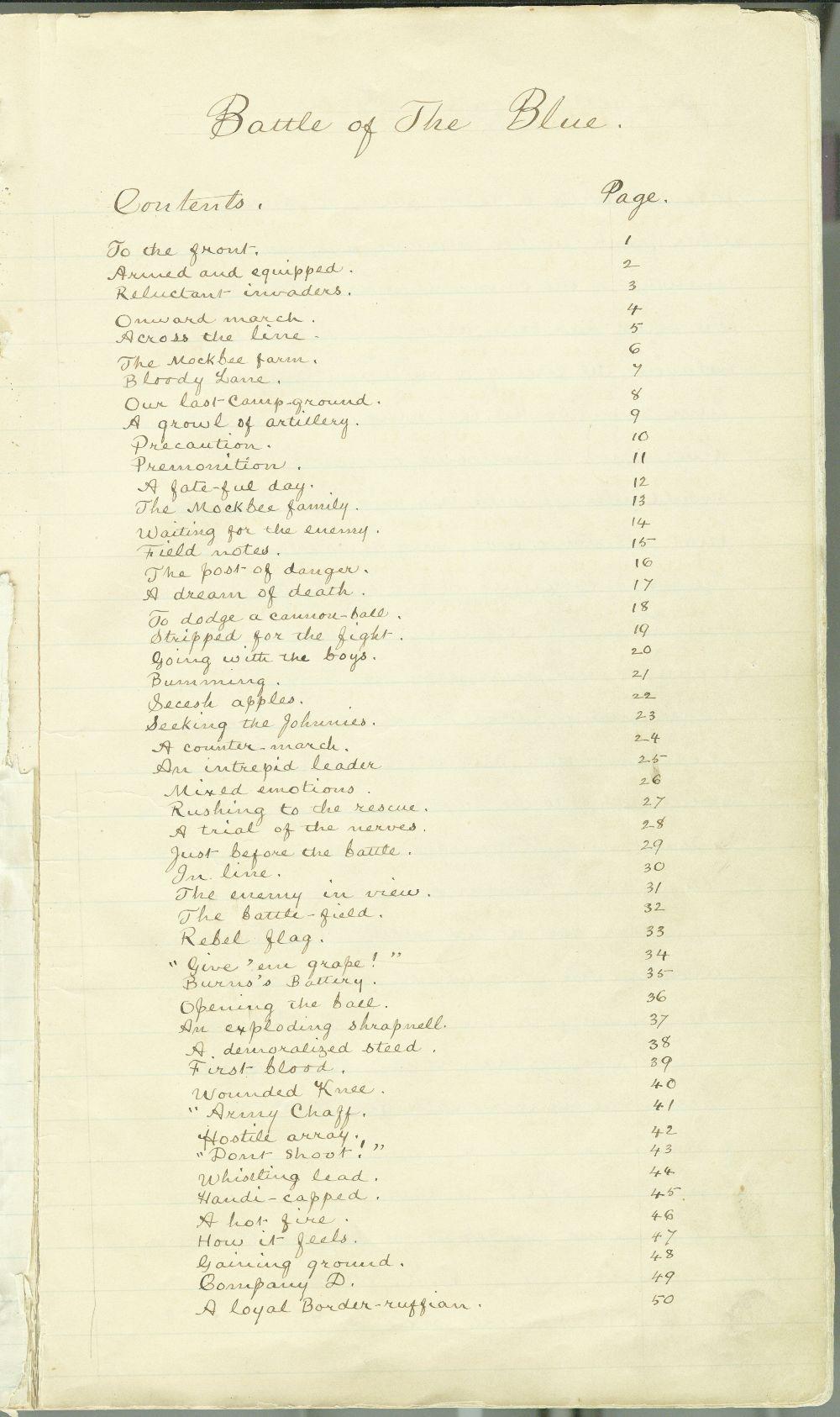 Samuel J. Reader's autobiography, volume 3 - 9