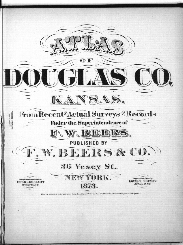 Atlas of Douglas County, Kansas - Title Page