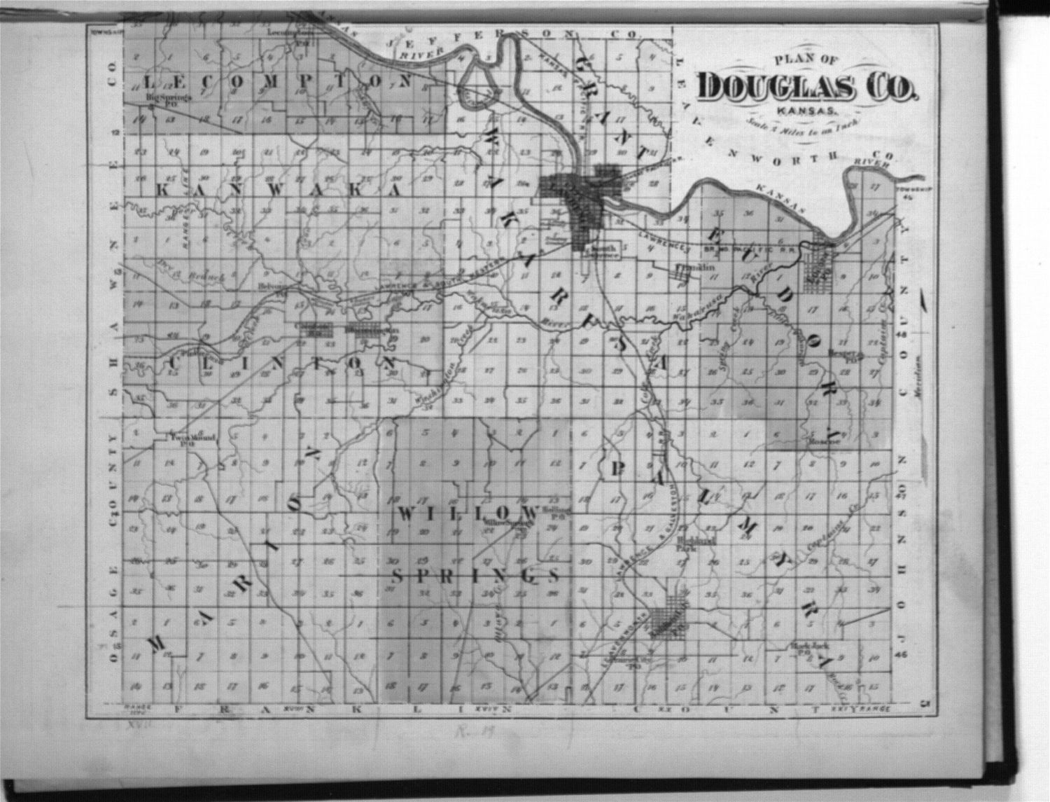 Atlas of Douglas County, Kansas - 4