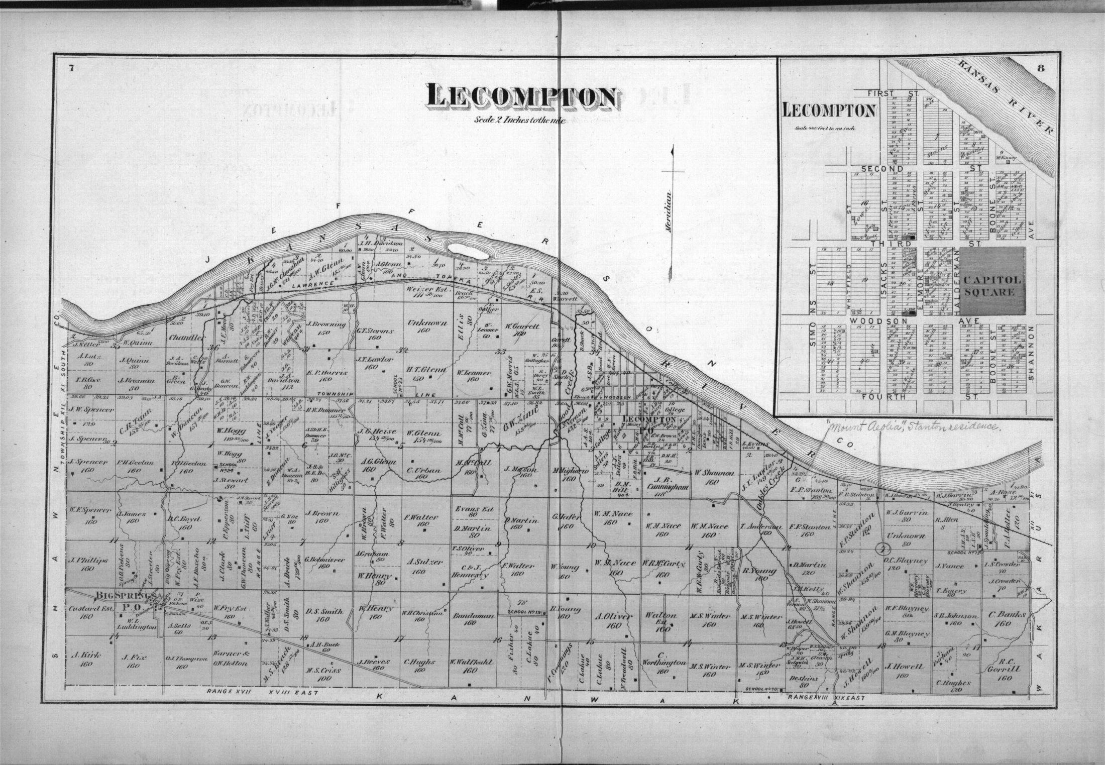 Atlas of Douglas County, Kansas - 6