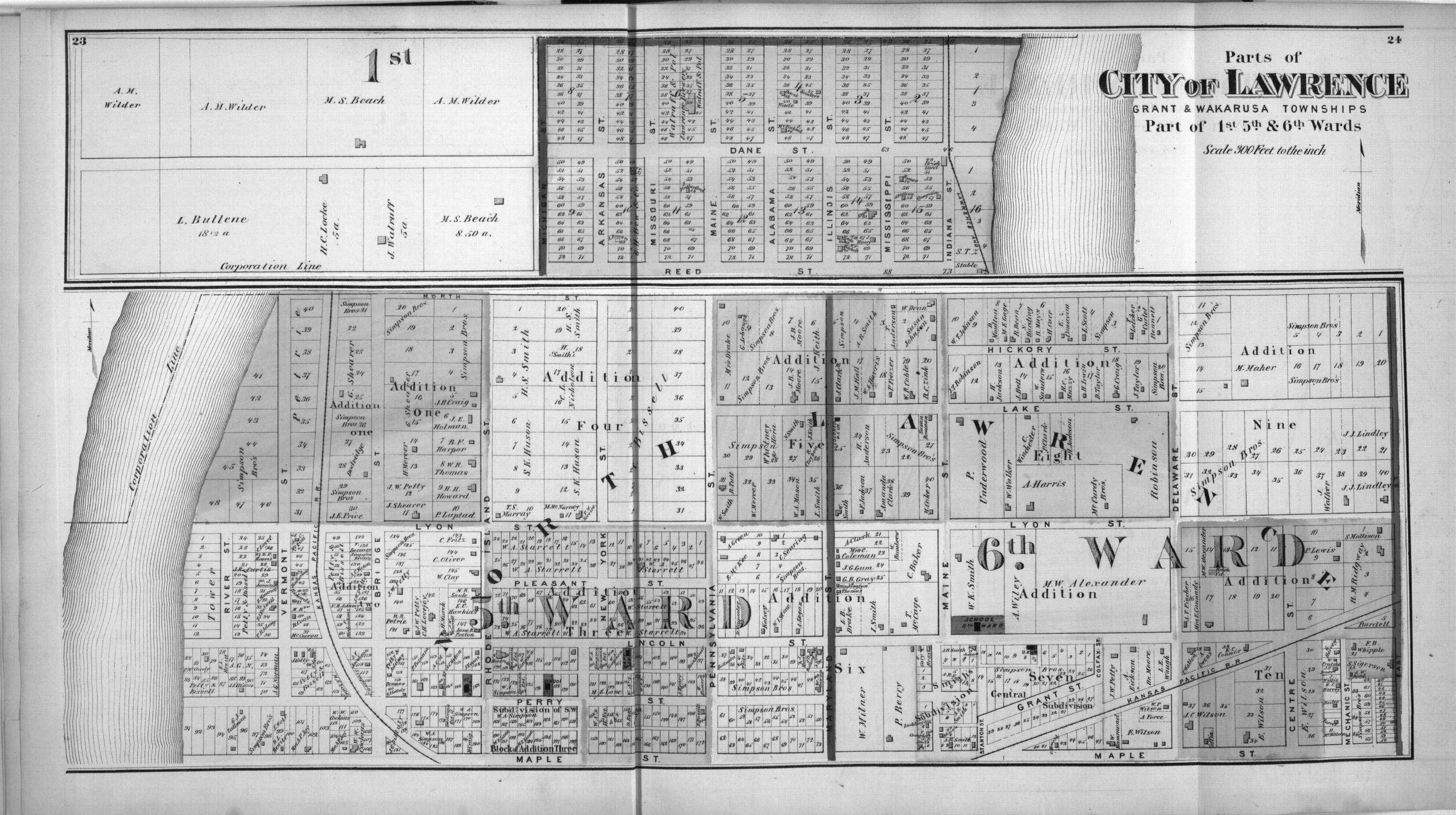 Atlas of Douglas County, Kansas - 9