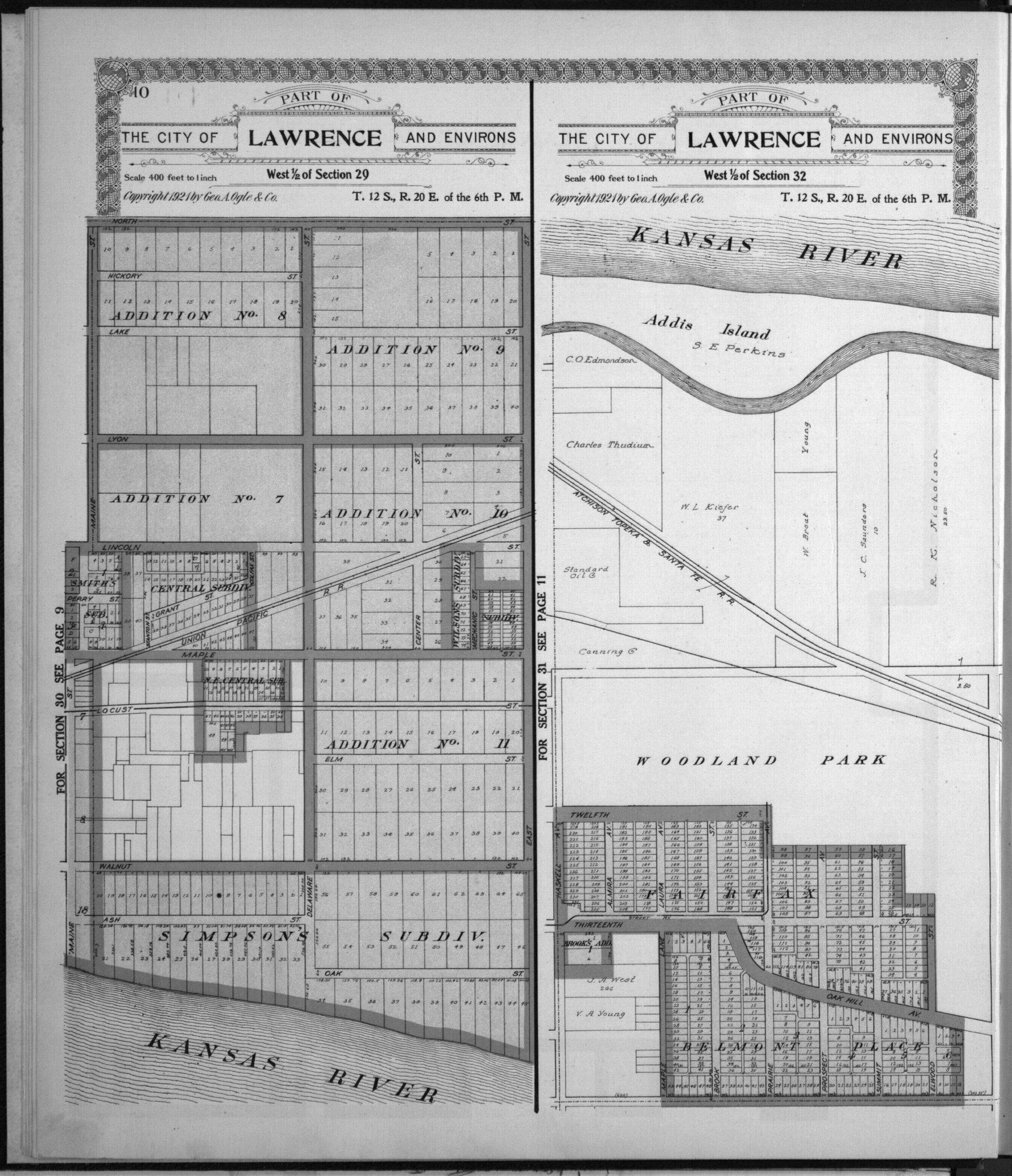 Standard atlas of Douglas County, Kansas - 6