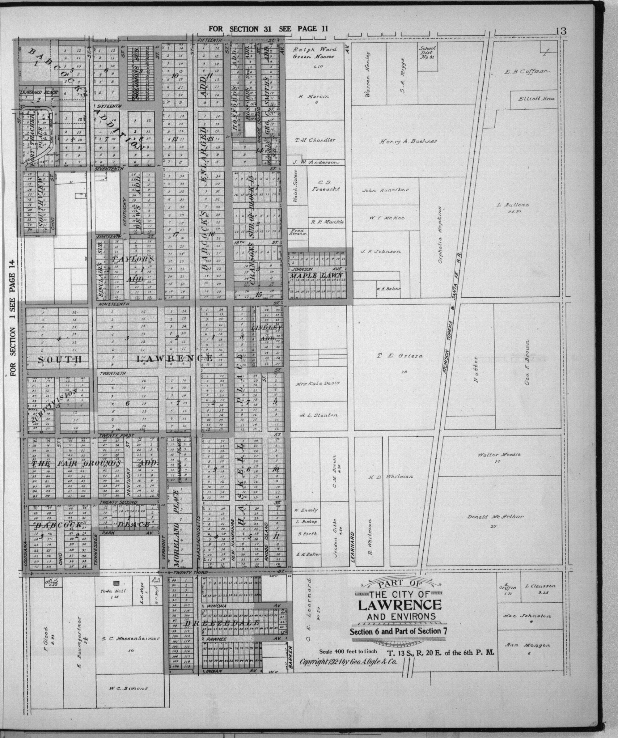 Standard atlas of Douglas County, Kansas - 9