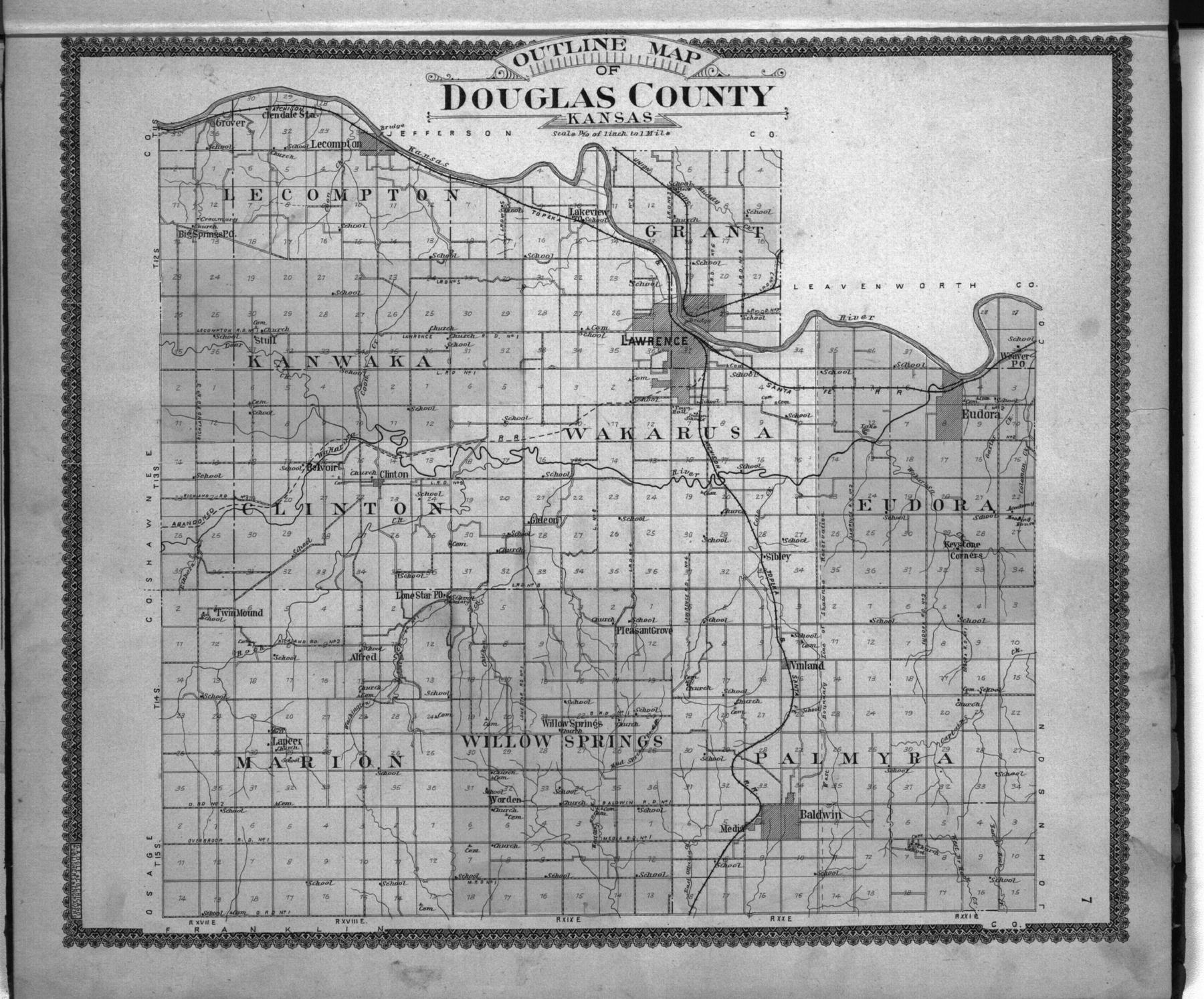 Standard atlas of Douglas County, Kansas - 7