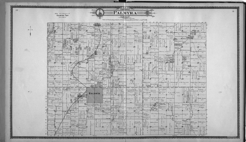Standard atlas of Douglas County, Kansas - 14-15