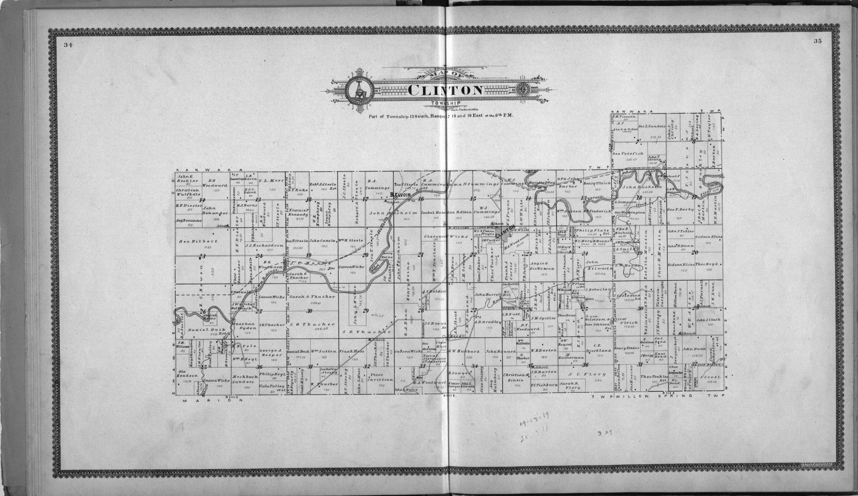 Standard atlas of Douglas County, Kansas - 34-35