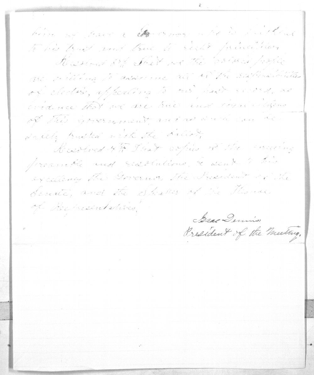 Colored people of Topeka to Governor Samuel J. Crawford - 3