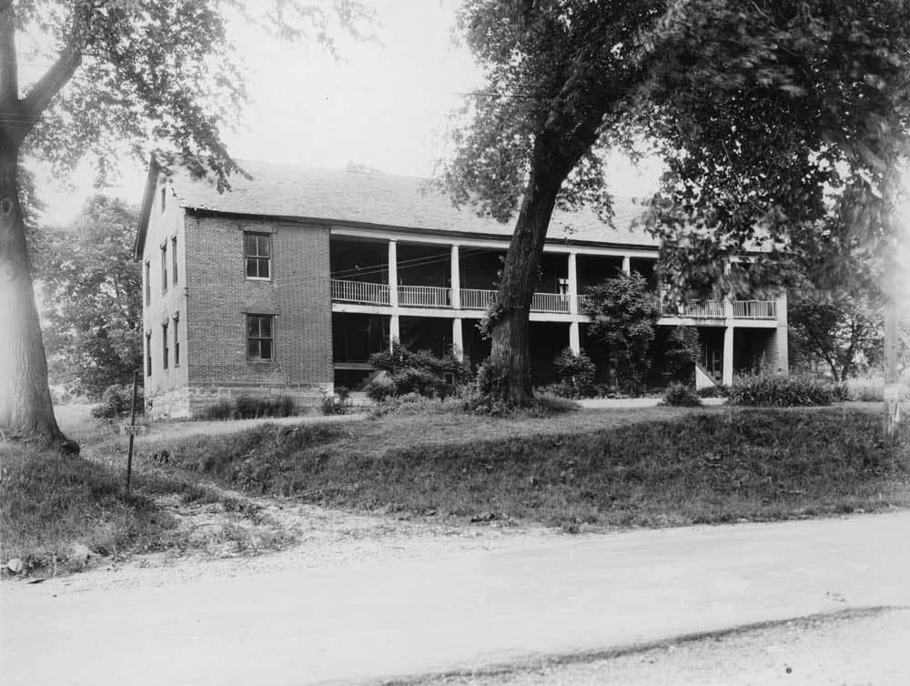 Shawnee Methodist Mission, North Building, Fairway, Kansas