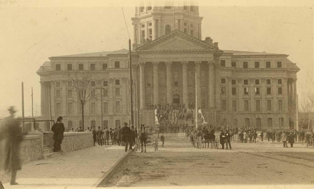 Reopening the Kansas Statehouse, Topeka, Kansas
