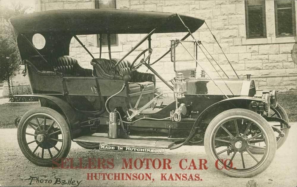 Sellers Motor Car Company, Hutchinson, Kansas - Kansas Memory ...
