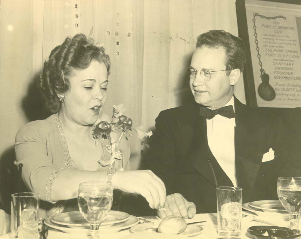 Osa Johnson and Payne Ratner
