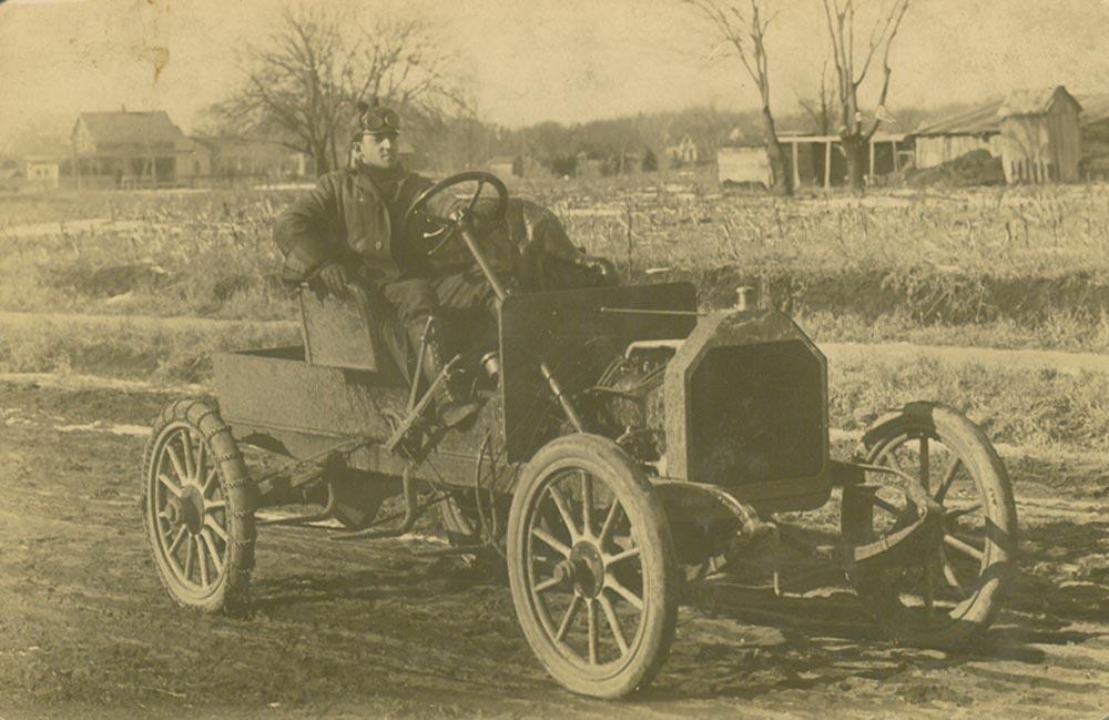 A Sellers Motor Car Company automobile, Hutchinson, Kansas