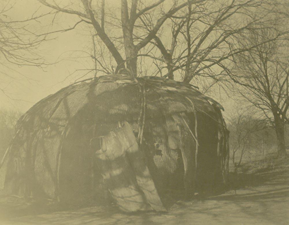 Pottawatomie Indian dwelling