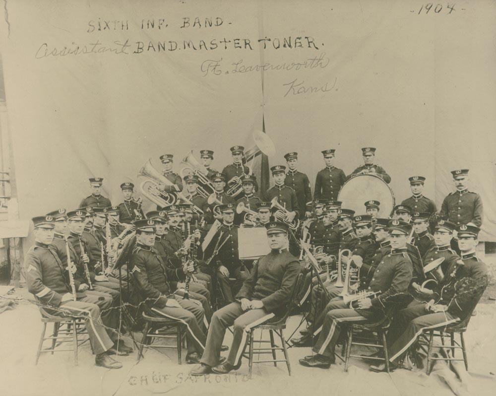 6th Infantry Band, Ft. Leavenworth, Kansas