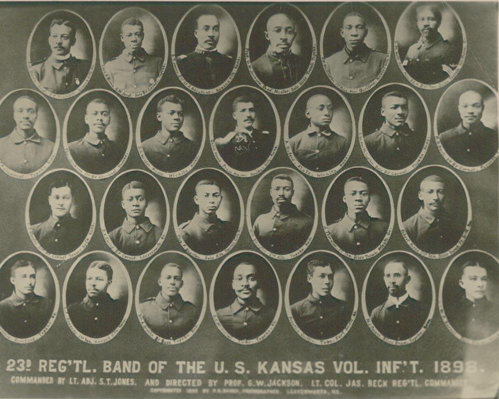 23rd Regimental Band, Kansas