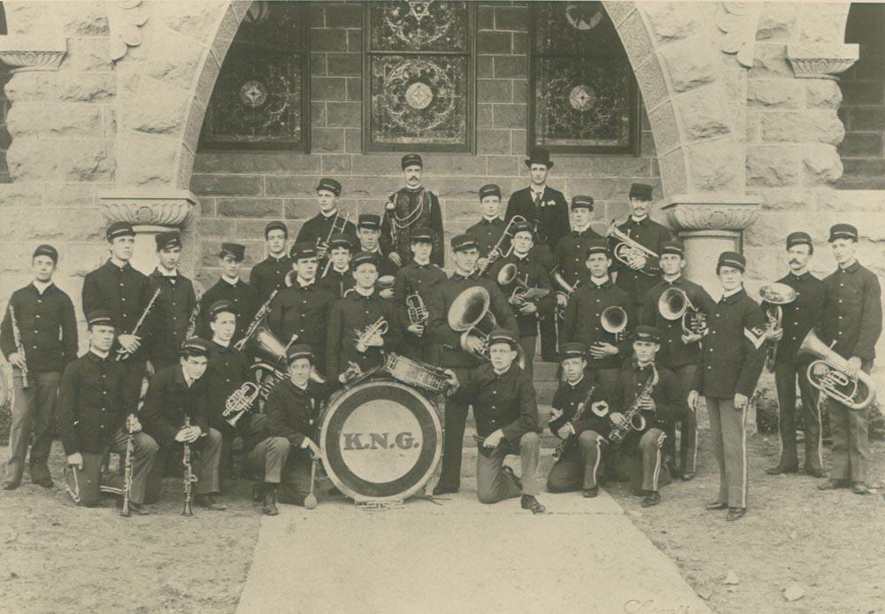 161st Field Artillery Band, Emporia, Kansas