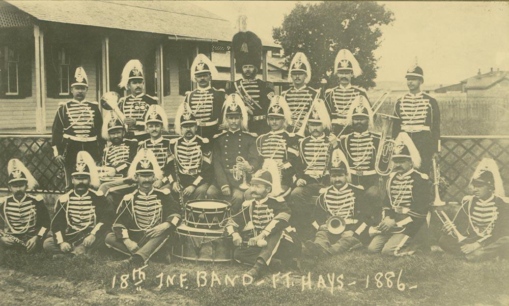18th Infantry Band, Fort Hays, Kansas