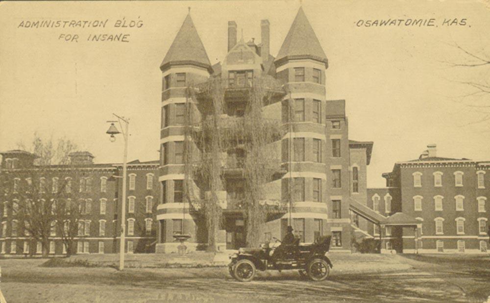 Osawatomie State Hospital, Osawatomie, Kansas