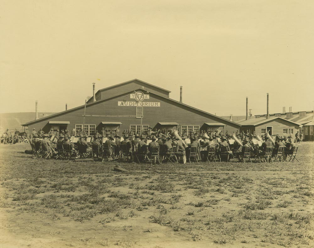 353rd Infantry Band, Camp Funston, Kansas