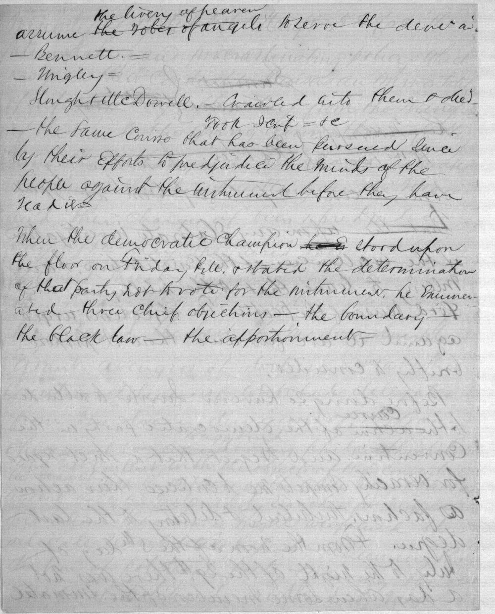 Speech written by John J. Ingalls - 7