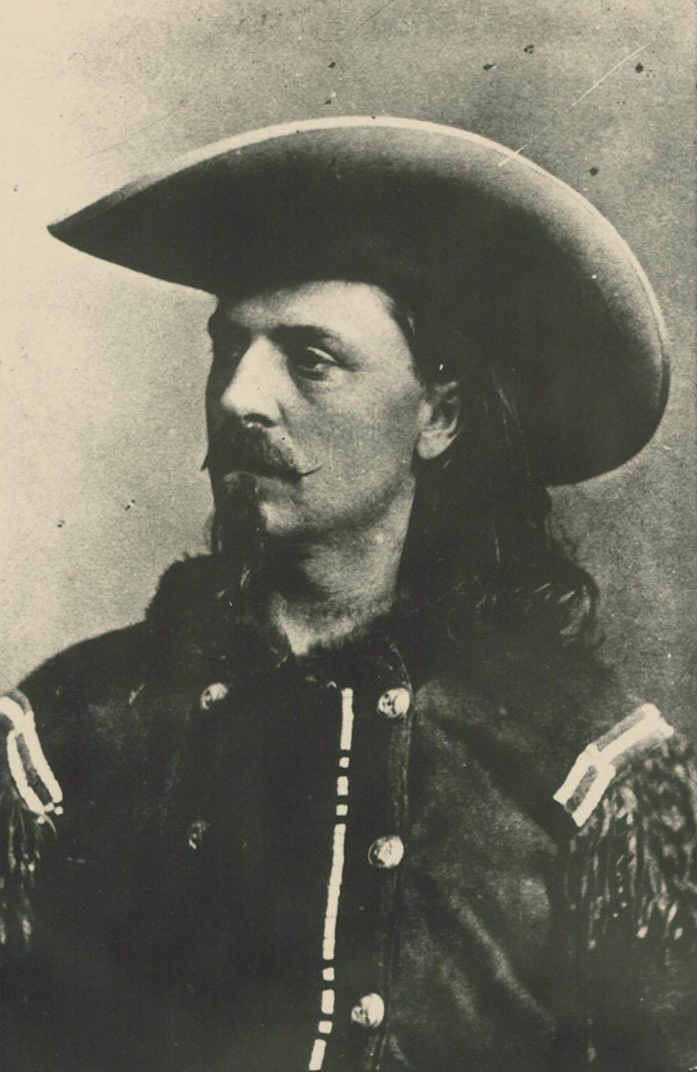 William F. Cody, reportedly at Fort Ellsworth