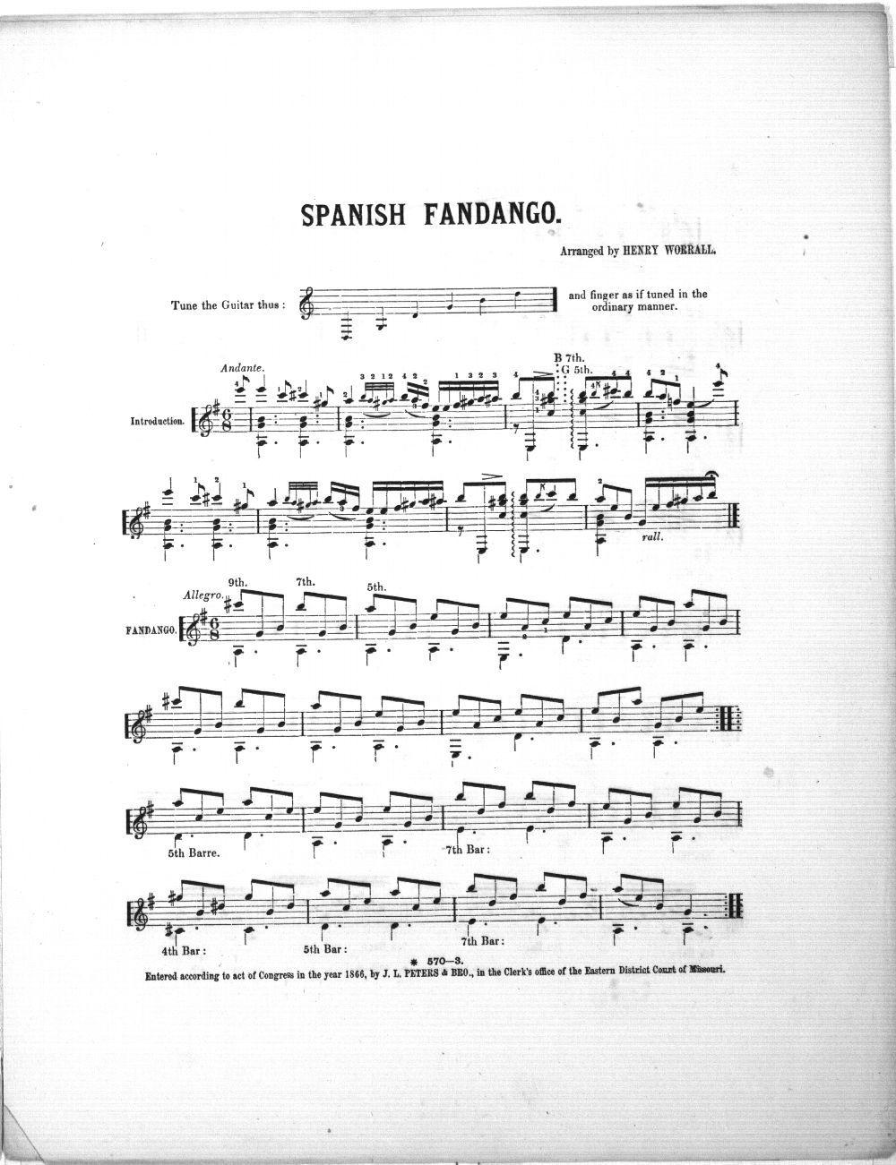 Spanish Fandango - 2