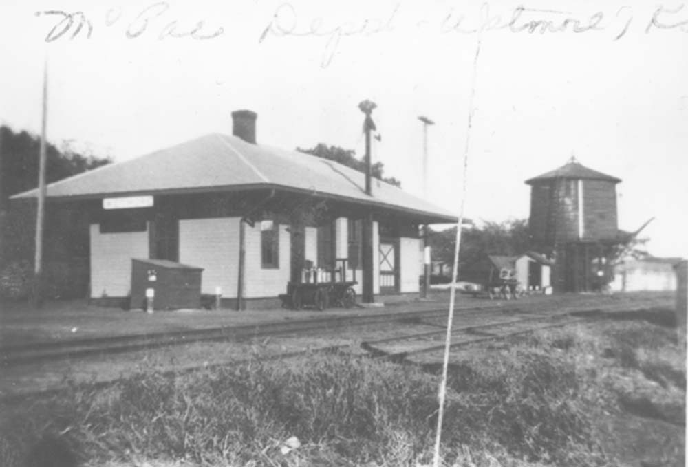 Missouri Pacific Railroad depot, Wetmore, Kansas