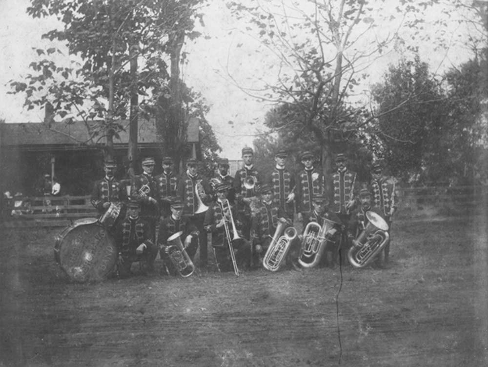 Chetopa Merchants' Band, Chetopa, Kansas