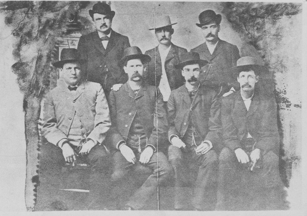 Dodge City Peace Commission - Without Tilghman or Petillon