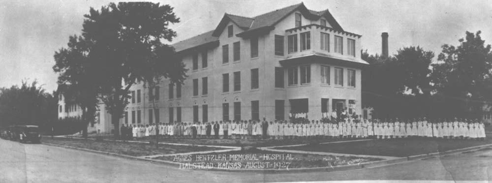 Agnes Hertzler Memorial Hospital, Halstead