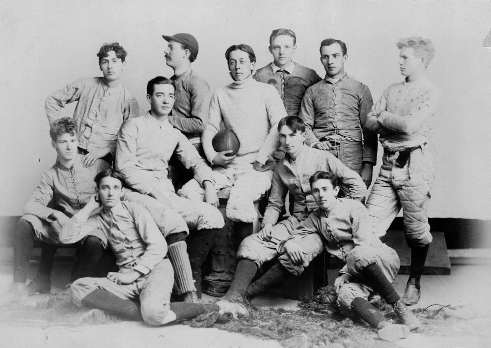 Kansas University football team, Lawrence, Kansas
