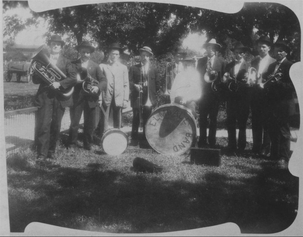 Elmdale Brass Band, Elmdale, Kansas