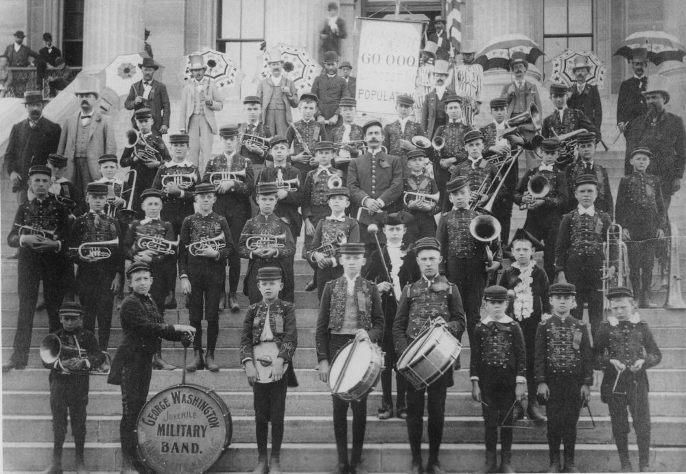 George Washington Juvenile Military Band, Kansas City, Kansas