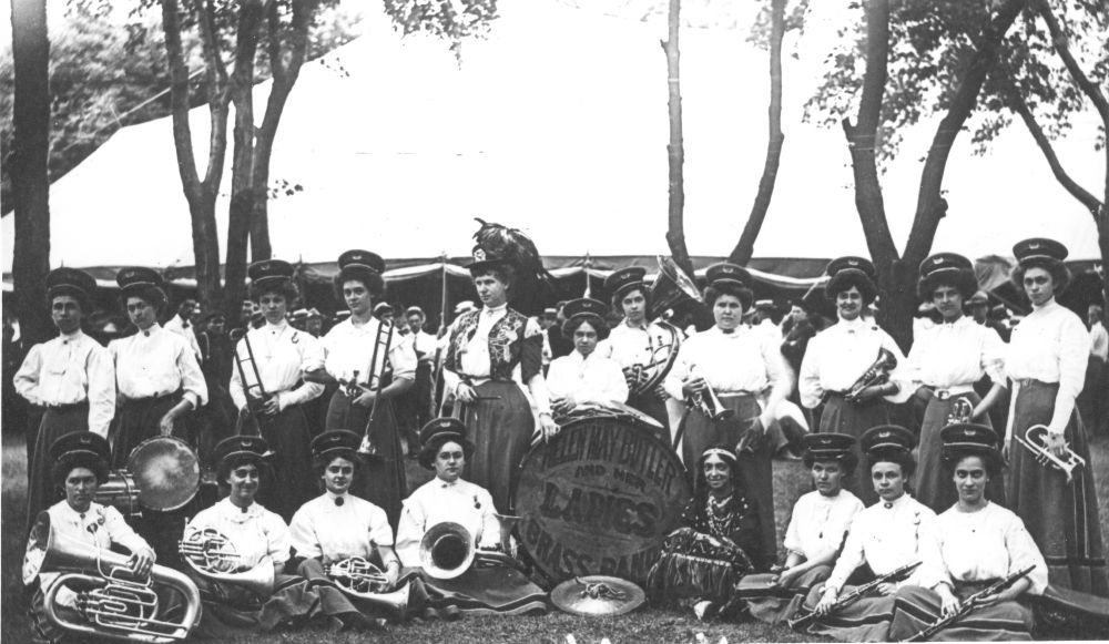 Helen May Butler and Her Ladies Brass Band