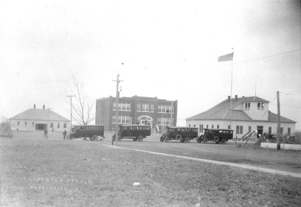 Brockway school buses