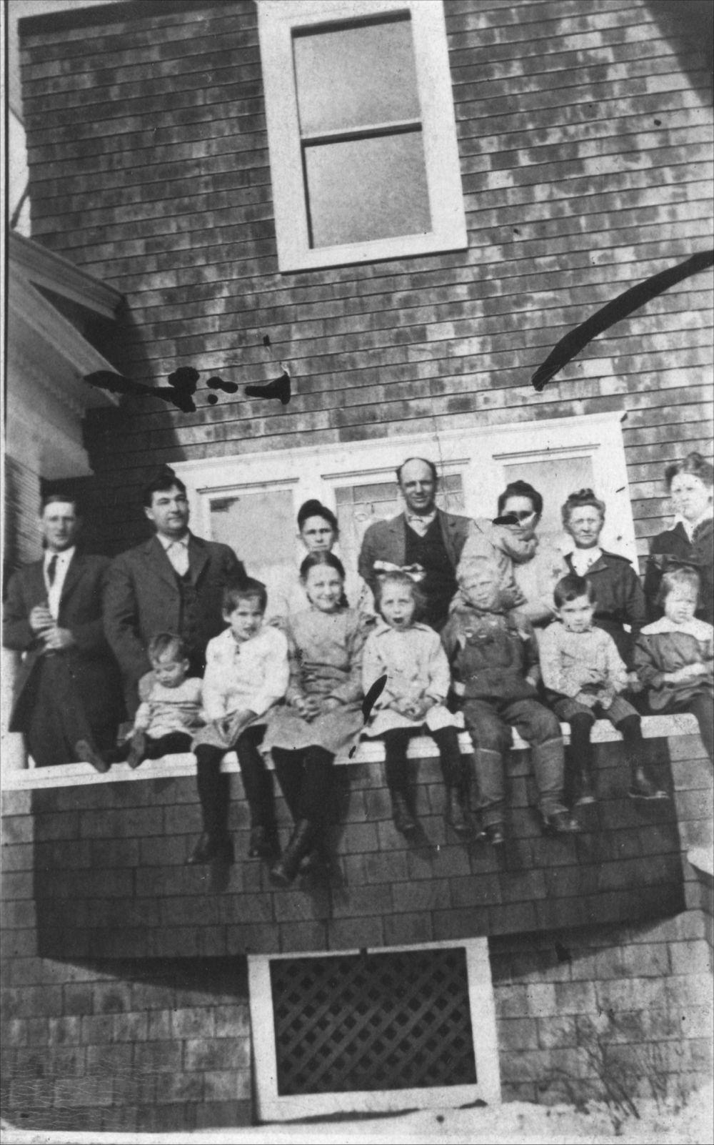 Family group at Rogler Ranch